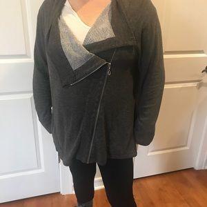 💜 3 for $15. symmetric zip sweatshirt 1X